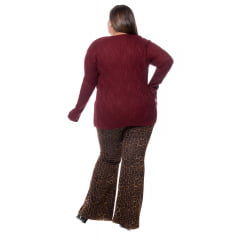 blusa tranca canelada 0165